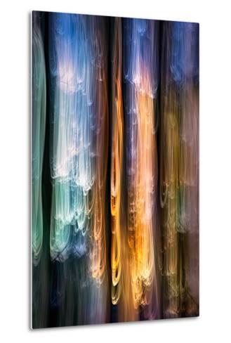 Evening Cedars-Ursula Abresch-Metal Print