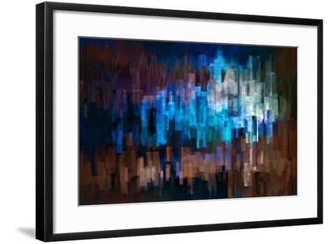 City at Night 3-Ursula Abresch-Framed Art Print