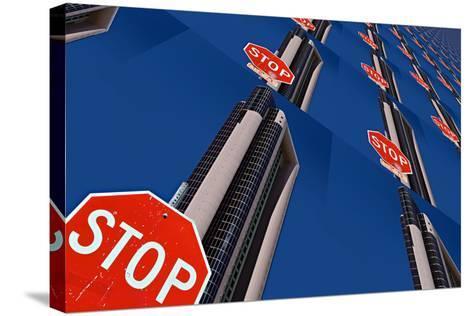 Stop 2-Ursula Abresch-Stretched Canvas Print