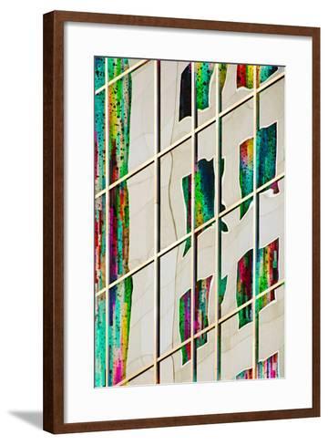 Party Town-Ursula Abresch-Framed Art Print