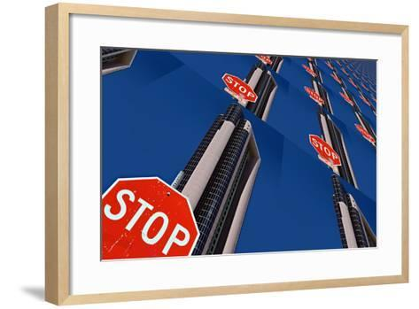 Stop 2-Ursula Abresch-Framed Art Print