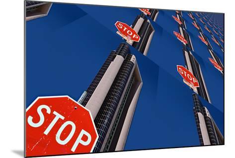 Stop 2-Ursula Abresch-Mounted Photographic Print