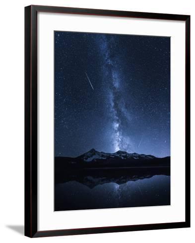 Galaxies Reflection-Toby Harriman-Framed Art Print