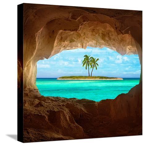 Paradise-Matt Anderson-Stretched Canvas Print