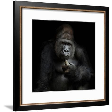 Imho...-Antje Wenner-Braun-Framed Art Print