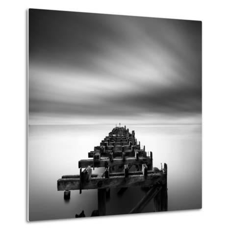 Ruined Pier-George Digalakis-Metal Print