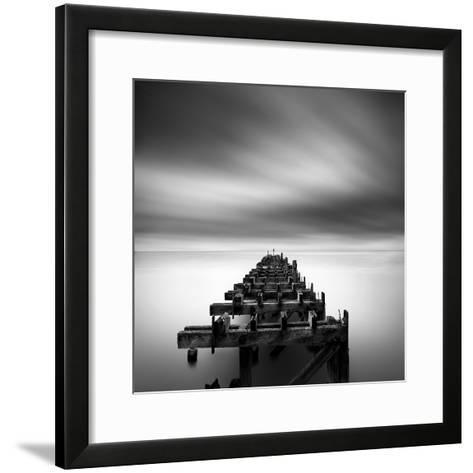 Ruined Pier-George Digalakis-Framed Art Print