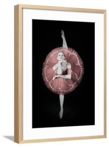 On Pointe-Darlene Hewson-Framed Art Print