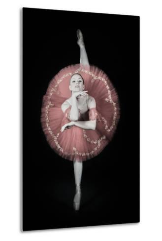 On Pointe-Darlene Hewson-Metal Print