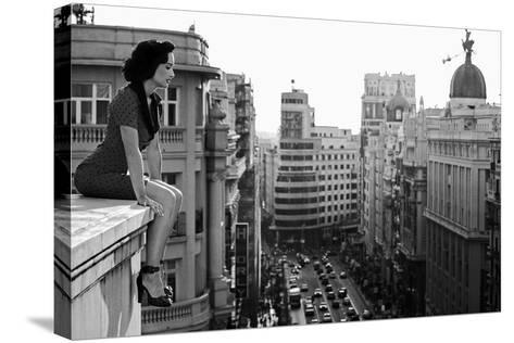 Mad Madrid-Alejandro Marcos-Stretched Canvas Print
