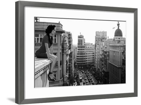 Mad Madrid-Alejandro Marcos-Framed Art Print