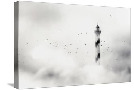 The Fog-Piet Flour-Stretched Canvas Print