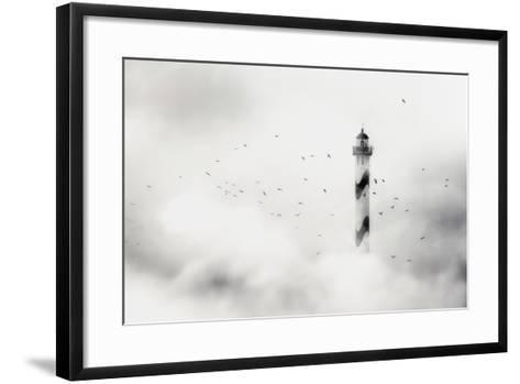 The Fog-Piet Flour-Framed Art Print