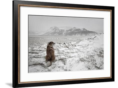 Snowstorm-Bragi Ingibergsson --Framed Art Print