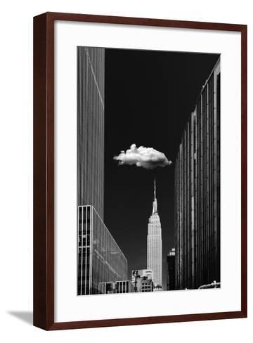 Single Cloud-Jackson Carvalho-Framed Art Print