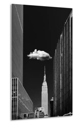 Single Cloud-Jackson Carvalho-Metal Print