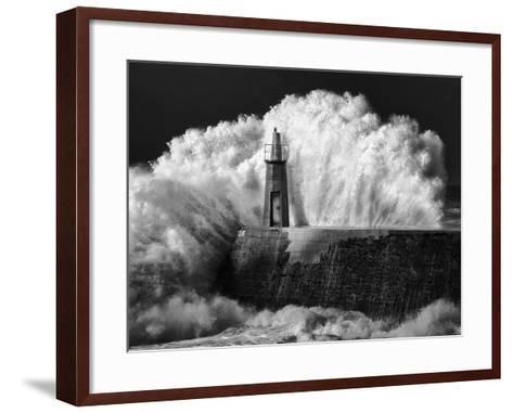 The Lighthouse-Alejandro Garcia Bernardo-Framed Art Print