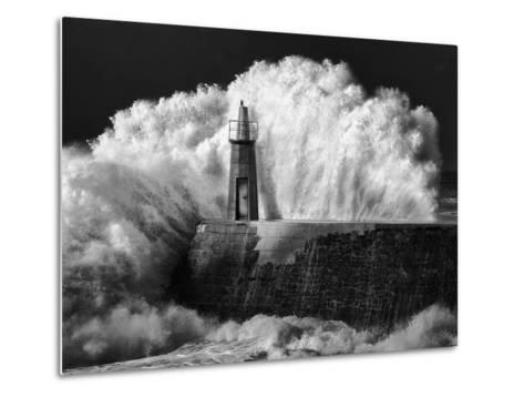 The Lighthouse-Alejandro Garcia Bernardo-Metal Print