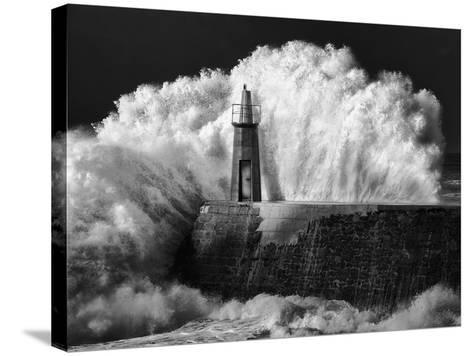 The Lighthouse-Alejandro Garcia Bernardo-Stretched Canvas Print