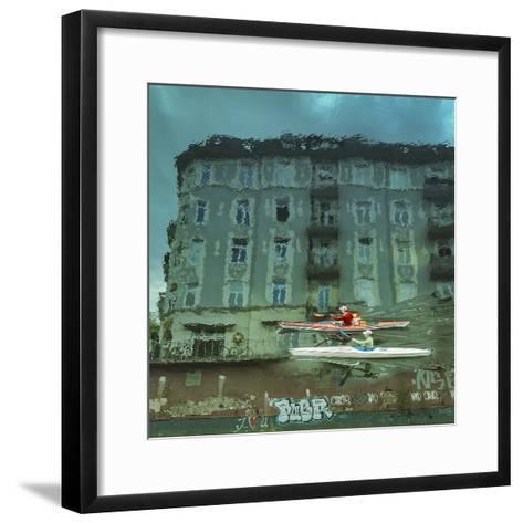 My Hamburg-Ambra-Framed Art Print