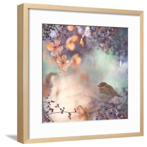Hydrangea Fantasy- Teuni-Framed Art Print
