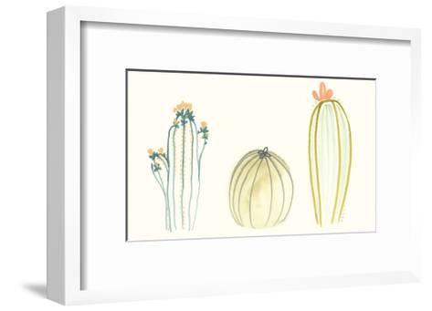 Funky Succulents IV-June Vess-Framed Art Print
