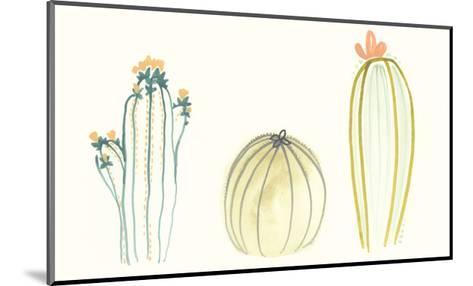Funky Succulents IV-June Vess-Mounted Art Print