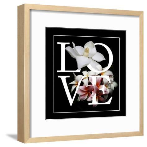 Floral Graphic I-Melissa Wang-Framed Art Print