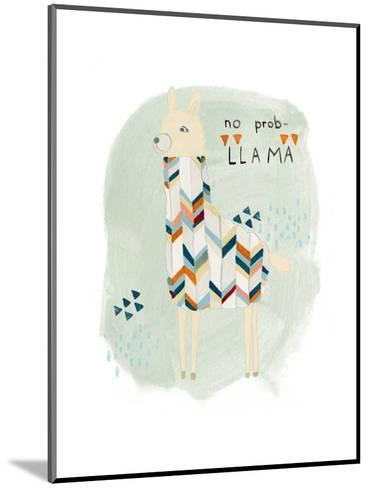 Llama Squad I-June Vess-Mounted Art Print