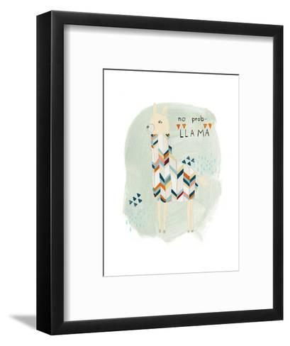 Llama Squad I-June Vess-Framed Art Print