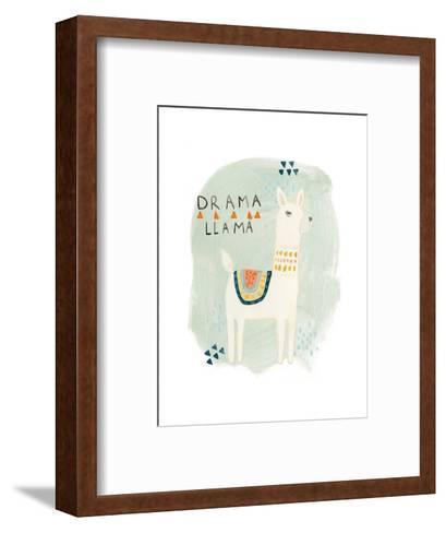 Llama Squad II-June Vess-Framed Art Print