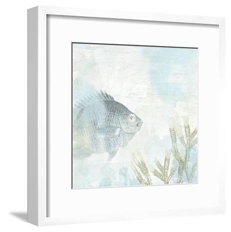 Coastal Fresco I-June Vess-Framed Art Print