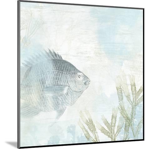 Coastal Fresco I-June Vess-Mounted Art Print