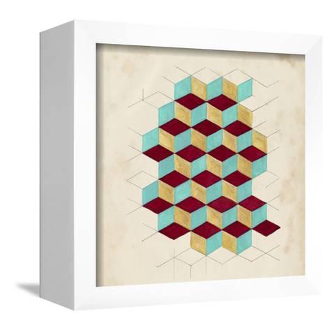 Geometric Pattern Play II-Naomi McCavitt-Framed Canvas Print