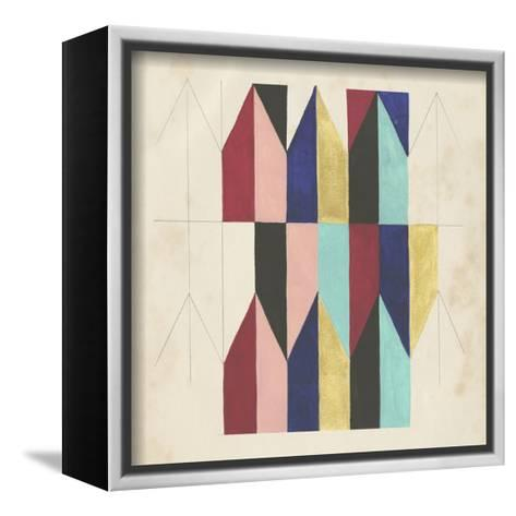 Geometric Pattern Play V-Naomi McCavitt-Framed Canvas Print