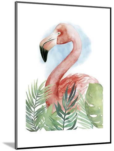 Watercolor Flamingo Composition II-Grace Popp-Mounted Art Print