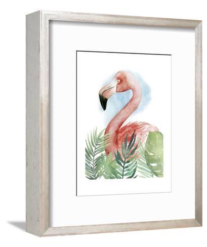 Watercolor Flamingo Composition II-Grace Popp-Framed Art Print