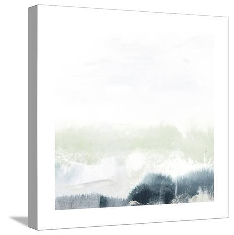 Seafoam Horizon II-June Vess-Stretched Canvas Print
