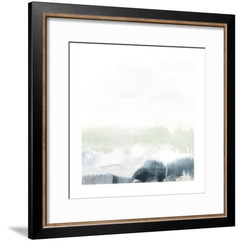 Seafoam Horizon II-June Vess-Framed Art Print