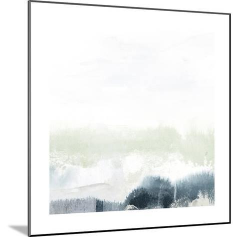 Seafoam Horizon II-June Vess-Mounted Art Print