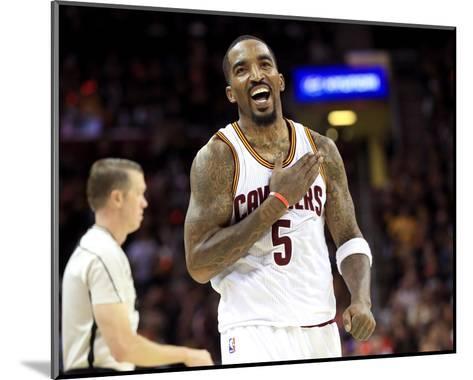 2017 NBA Finals - Game Three-Ronald Martinez-Mounted Photo