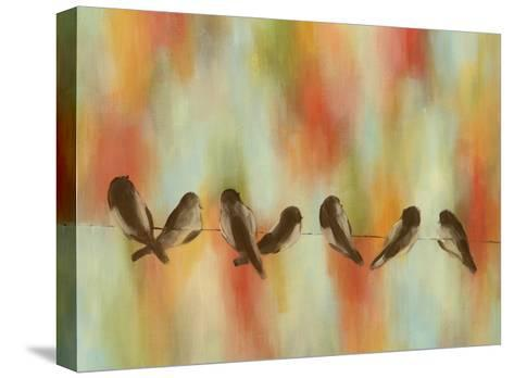 Birds of Summer III-Jeni Lee-Stretched Canvas Print