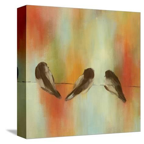 Birds of Summer II-Jeni Lee-Stretched Canvas Print
