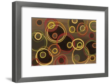 Cosmic Circles-Jeni Lee-Framed Art Print