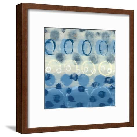 Souvenir Blue II-Jeni Lee-Framed Art Print