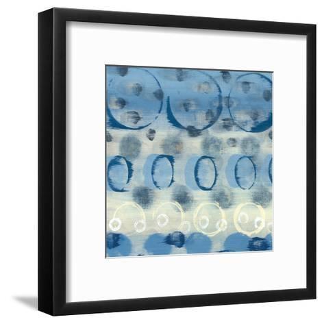 Souvenir Blue I-Jeni Lee-Framed Art Print