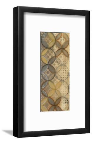 Pattern Sonata Panel I-Jeni Lee-Framed Art Print