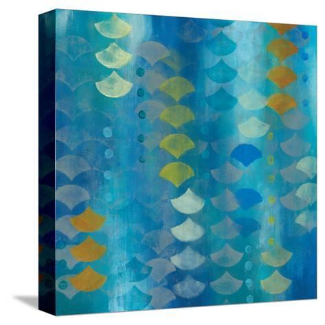 Ocean Echo II-Jeni Lee-Stretched Canvas Print