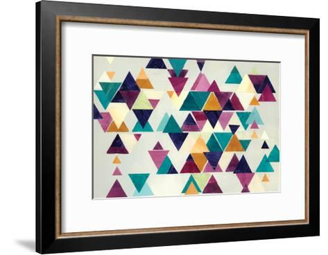 Turquoise Trail I-Jeni Lee-Framed Art Print