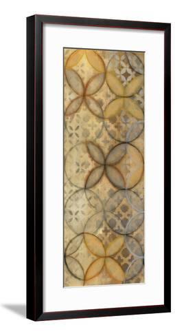 Pattern Sonata Panel III-Jeni Lee-Framed Art Print